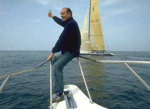 AMERICA'S CUP: J.CHIRAC SUPPORTS FRENCH CHALLENGE