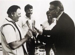 Henri Racamier. Louis Vuitton Cup. Cuplegend