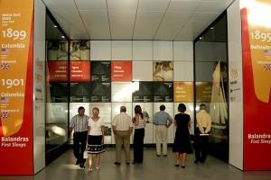 Exposition des maquettes d'Olivier de Kersauson à Valence 2007